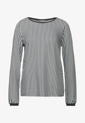 MIT PRINT - Long sleeved top - grau