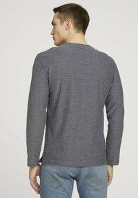 TOM TAILOR - Long sleeved top - dark blue - 2