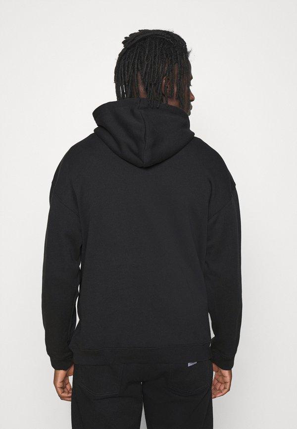 adidas Originals SILICON HOODY UNISEX - Bluza z kapturem - black/czarny Odzież Męska PBVI
