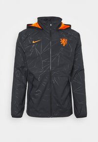 Nike Performance - NIEDERLANDE KNVB  - Training jacket - black/safety orange - 4