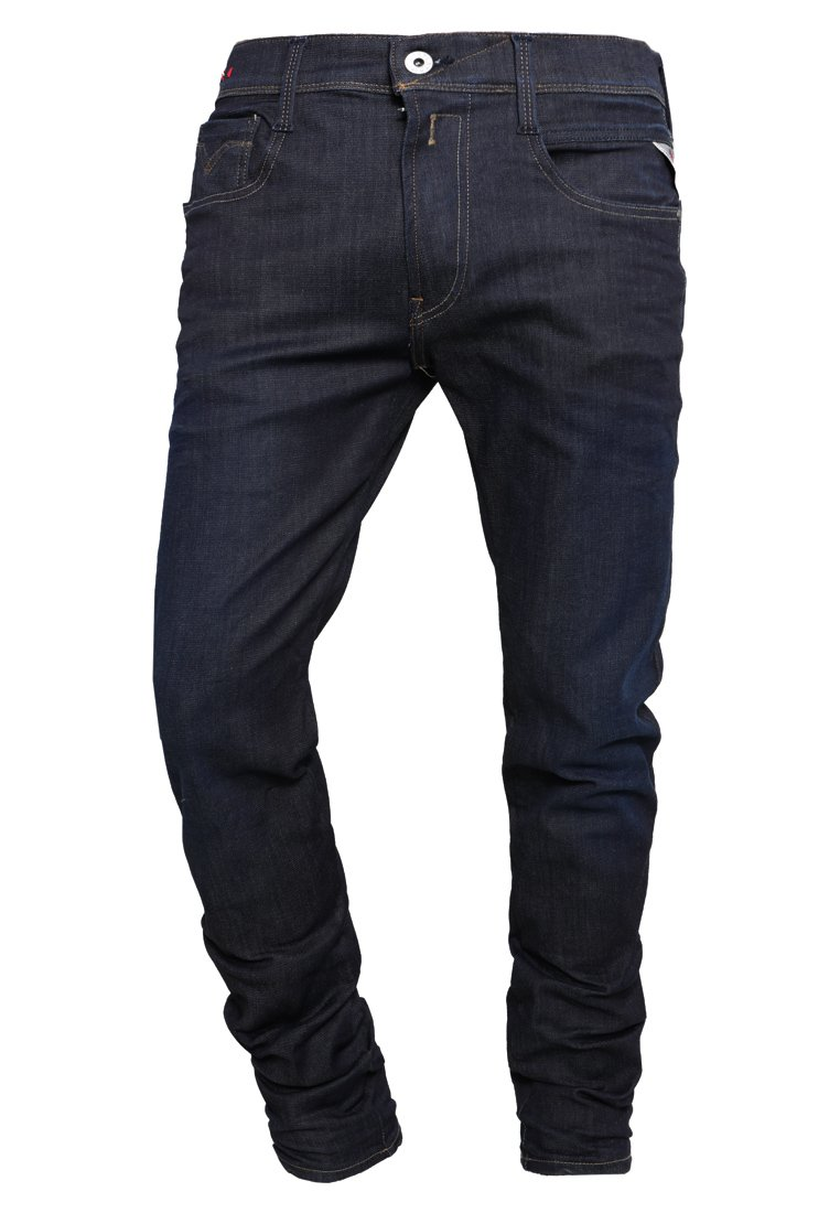 Replay Hyperflex Anbass - Jeans Slim Fit Blau/mørkeblå Denim