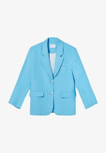 Blazer - turquoise