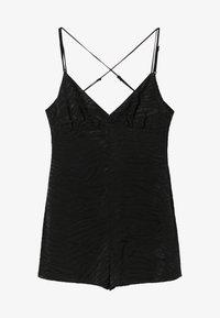 Bershka - Tuta jumpsuit - black - 4