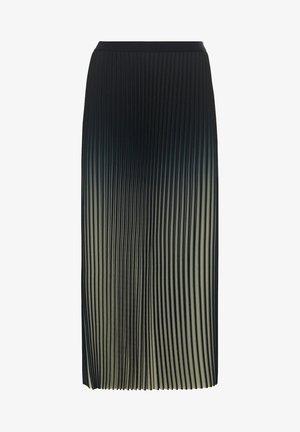 MIT FARBVERLAUF - Plooirok - lindengrün