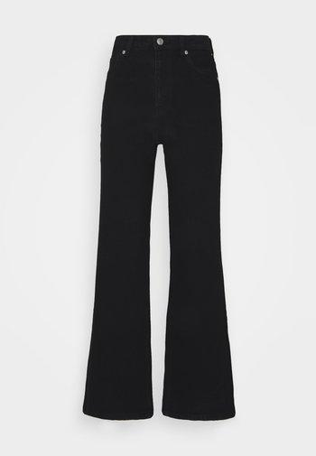 CINDY - Široké džíny - black
