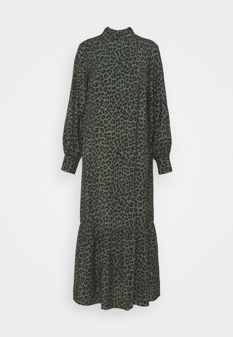 EDITED - TRISH DRESS - Maxi dress - black/green