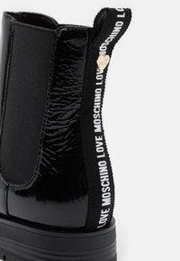 Love Moschino - DAILY - Kotníkové boty - black - 6