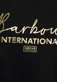 Barbour International - GRID TEE - Print T-shirt - black - 2