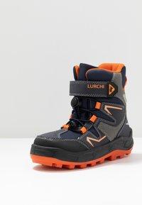 Lurchi - KALINO SYMPATEX - Lace-up ankle boots - atlantic/orange - 2