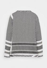 CECILIE copenhagen - Pitkähihainen paita - black/white - 1