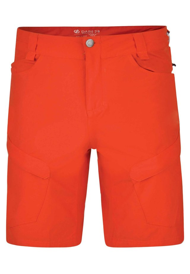 Outdoor shorts - fiery red