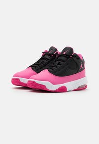 Jordan - MAX AURA 2 UNISEX - Basketball shoes - black/pinksicle/white - 1