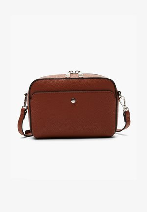 CITY  - Across body bag - cognac