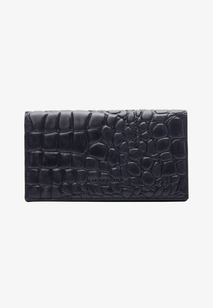 WAXY CROCO CRSTACY - Wallet - midnight sky