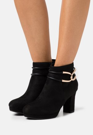 WIDE FIT WESTMINSTER - Ankle boots - black