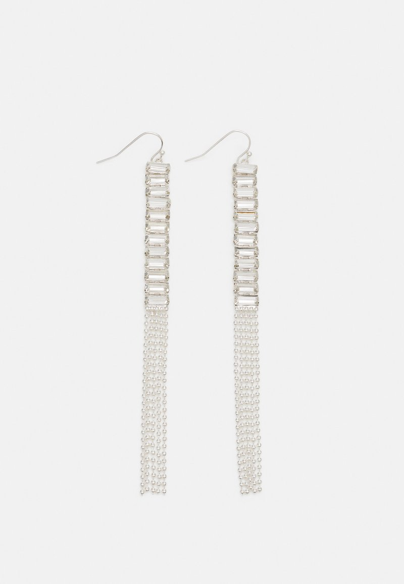 Pieces - PCKARINE EARRINGS - Uhani - silver-coloured