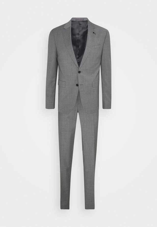 SLIM FIT SUIT - Suit - grey