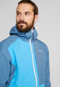 PYUA - EXCITE - Snowboard jacket - stellar blue/malibu blue - 3