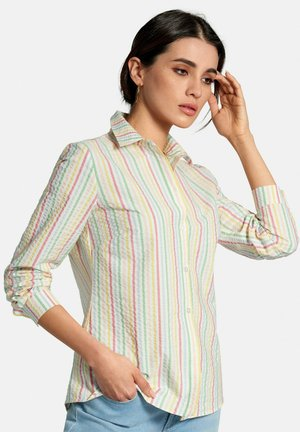 BLUSE BLUSE - Button-down blouse - multicolor