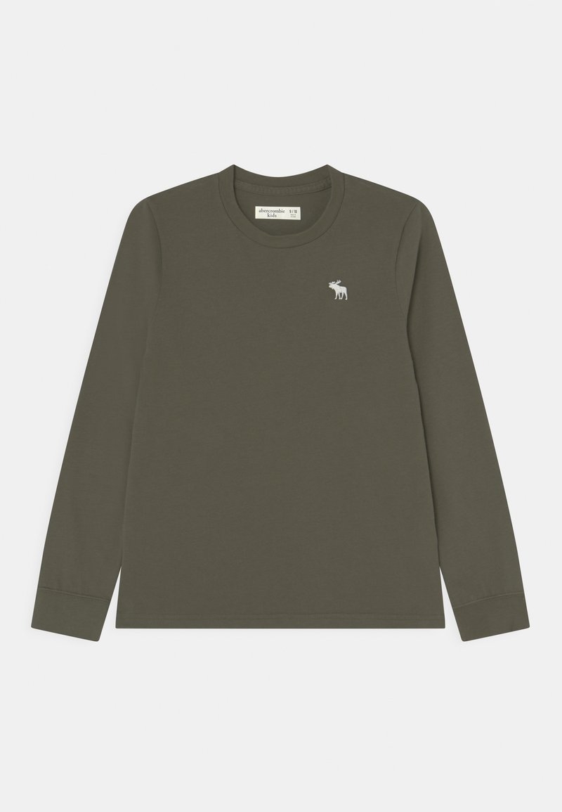 Abercrombie & Fitch - BASIC - Long sleeved top - green