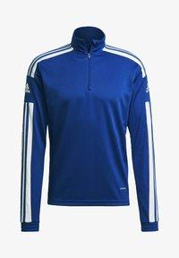 adidas Performance - Zip-up hoodie - blue - 6
