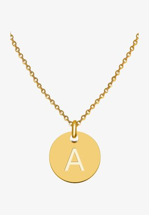 BUCHSTABE A - Ketting - gold