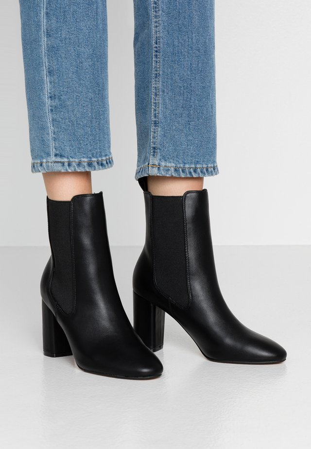 OTTY - High heeled ankle boots - black