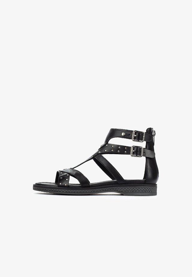 MORAIRA - T-bar sandals - black
