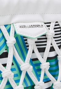 KARL LAGERFELD - KNOTS MINI HOBO - Handbag - off white - 4