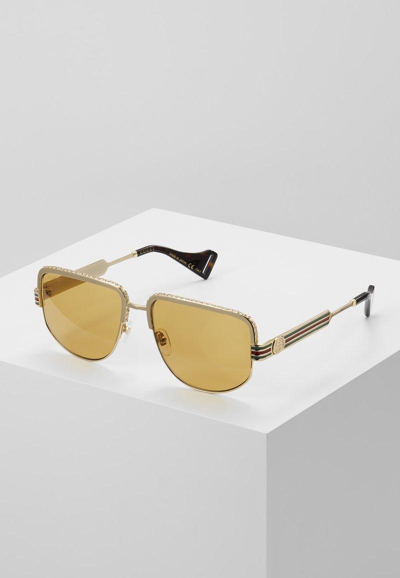 Gucci - Sunglasses - gold-coloured/yellow