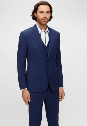 Suit jacket - mid blue