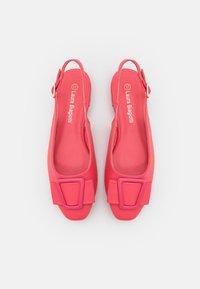 Laura Biagiotti - Slingback ballet pumps - fuxia - 5