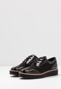 Anna Field Wide Fit - WIDE FIT - Snøresko - black - 4