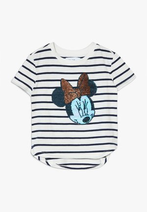 GIRL  - Print T-shirt - navy