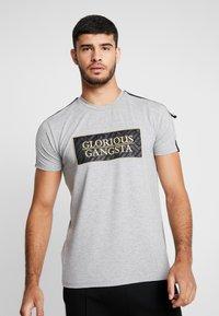Glorious Gangsta - BAZLEY - T-Shirt print - grey marl - 0