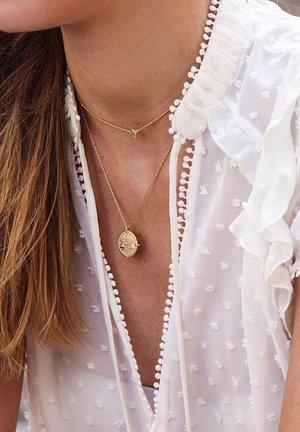 LABRADORITE DROP - Necklace - gold