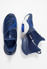 Nike Performance - AIR ZOOM SUPERREP UNISEX - Gym- & träningskor - blue void/black/vast grey/voltage purple - 1