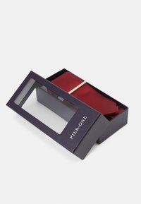 Pier One - SET - Cravatta - dark red - 2