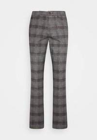 Jack & Jones - JJIMARCO JJBOWIE CHECK - Trousers - grey - 4
