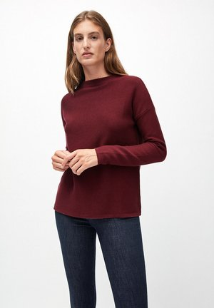 MEDINAA - Jumper - dark red
