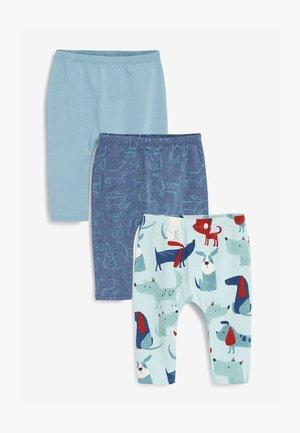 3 PACK STRETCH - Leggings - Trousers - blue