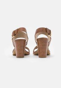 Steven New York - LINN - Sandals - cognac - 3