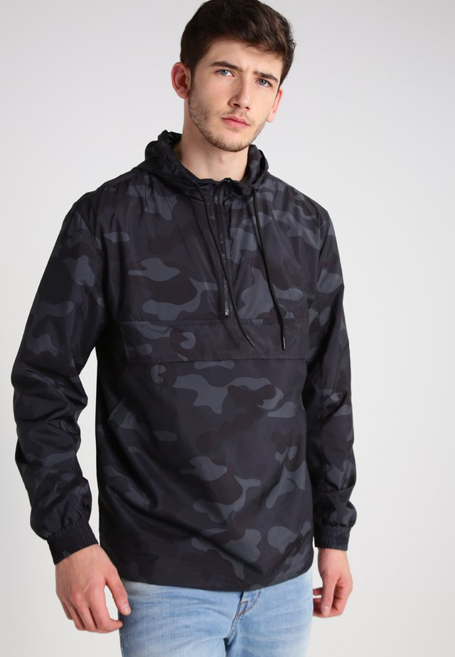 Windbreaker - gray camo