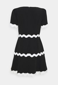 Milly - JOSEPHINE CADY TRIM DRESS - Robe d'été - black - 1