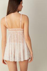 Intimissimi - BABYDOLL  ISN'T SHE LOVELY - Pyjama top - talco/pink salt - 1