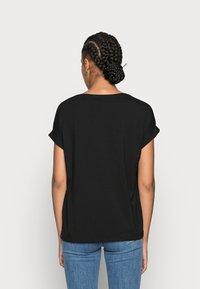 ONLY - ONLMOSTER ONECK - T-shirt - bas - black/solid black - 2