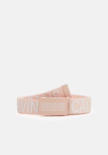 LOGO BELT UNISEX - Belt - pink