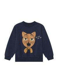 Mini Rodini - CAT CHOIR - Sweatshirt - navy - 0