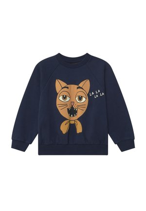 CAT CHOIR - Sweatshirt - navy