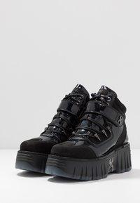 Bronx - MOON WALKK - High-top trainers - black - 4